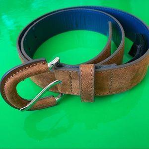 MNG by Mango suede belt